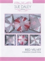 Red Velvet Cushion Collection -Sue Daley