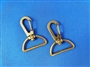 Swivel Snap Hooks Antique Brass