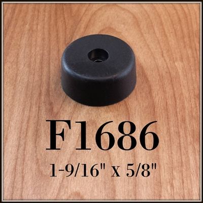 F1686 rubber cabinet foot
