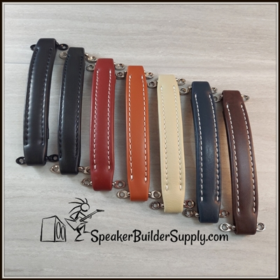 vintage style leather look amp handle