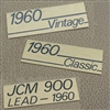 Genuine Marshall amp badges/lead plates
