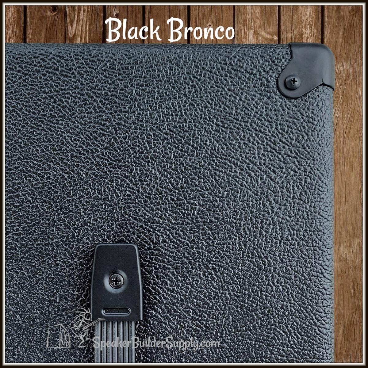 Black Tolex Bronco