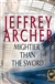 Archer, Jeffrey - Mightier than the Sword (Signed First Edition)