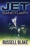 Blake, Russell | JET: Sanctuary | Signed First Edition Trade Paper Book