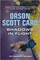 Card, Orson Scott - Shadows in Flight (Signed, 1st)
