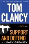 Clancy, Tom & Greaney, Mark - Support and Defend (Signed First Edition)