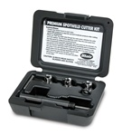 "Blair Spot Weld Cutter Kit contains three 3/8"" Rotabroach cutters"