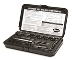 Blair Combo Kit combines the 11090 and 11091 in one hole cutter kit