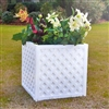 "22"" x 22"" x 22"" Square And Cube Lattice Planter Box"