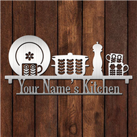 Custom Name's Kitchen