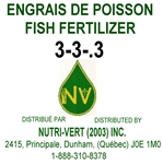 3-3-0.3 Liquid Fish Fertilizer