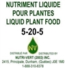 5-20-5 Liquid Fertilizer