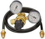 Harris Adjustable Argon Regulator w/10' Hose for Lincoln Electric and Century MIG Welders KH738