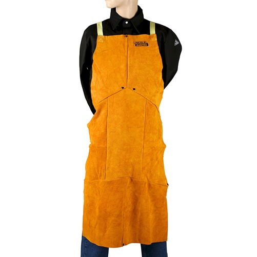 Lincoln Electric Leather Welding Apron Kh804