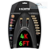 HDMI CABLE - 6FT  2.0V 4K 3D Support w/ Ethernet