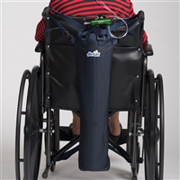 Wheelchair or Scooter Oxygen Cylinder Carrier for D and E Cylinders