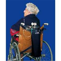 Wheelchair Scooter Oxygen Cylinder Carrier Fits M6, C, M9, D Cylinder