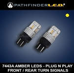GL1800/F6B - AMBER TURN SIGNAL LED - FRONT OR REAR [PAIR]