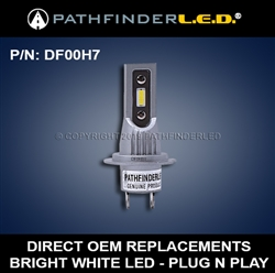 H7 LED HEADLIGHT BULB - PLUG 'N PLAY