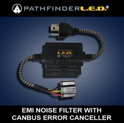 NEW! H4/H7/H11/H13 EMI FILTER W/CANBUS CANCELLER