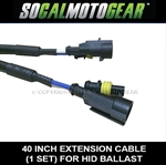 HID Ballast Extension Cable Sets [40inches - over 3ft]