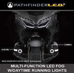 (SHIPS AFTER 07-24-) OUT OF STOCK - 2018+ GOLD WING LED FOG LIGHT KIT