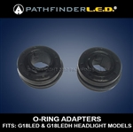 SPARE O-RING ADAPTERS FOR G18LED AND G18LEDH