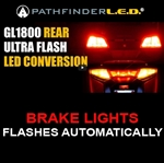 GL1800 FLASHES WHEN BRAKING - REAR LED CONVERSION KIT