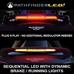 LED - SEQUENTIAL SPOILER LIGHT W/DYNAMIC BRAKE/RUNNING LIGHTS