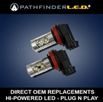 PASSING LED LIGHTS for INDIAN MOTORCYCLES [PAIR]