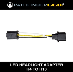 H4 TO H13 LED HEADLAMP ADAPTER