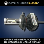 H4 RUGGED 4000LM LED - PLUG N PLAY