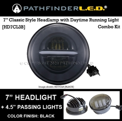 "7"" INCH CLASSIC LED (COMBO) W/4.5"" PASSING LIGHTS COMBO"