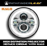 "[HALO] HD7MCH - 7"" LED HIGH DEFINITION PROJECTOR HEADLAMP"