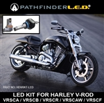 LED Conversion KIT for HARLEY V-ROD - LO & HI BEAM