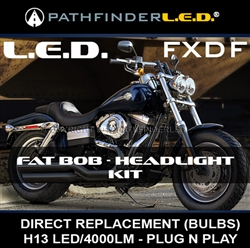 HARLEY FAT BOB LED KIT - PLUG N PLAY [FXDF]