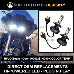 HARLEY ROAD GLIDE LED KIT - PLUG N PLAY