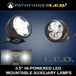 "3.5"" High Powered LED Auxiliary Lamps 1100 Series [PAIR] - OUT OF STOCK"