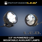 "3.5"" High Powered LED Auxiliary Lamps 1100 Series [PAIR]"