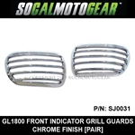 GL1800/F6B FRONT TURN SIGNAL GRILLE GUARDS [PAIR]