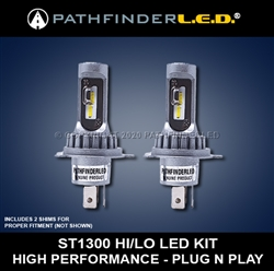 ST1300 HIGH PERFORMANCE LED KIT for HONDA [2-UBH04+SHIMS]
