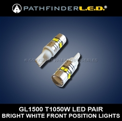 GL1500 FRONT POSITION LIGHTS [50W] PAIR