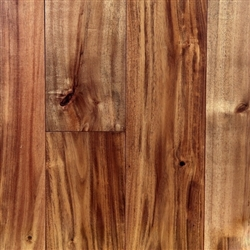 "Handscraped Solid Acacia Hardwood floors, 5""x3/4""xRL, Natural"