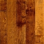 "Engineered Birch Smooth Flooring, 3/8""x5""xRL, Antique Whiskey"