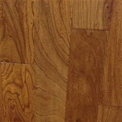 "Engineered Elm Handscraped Flooring, 3/8""x5""xRL, Cinnamon Toast"