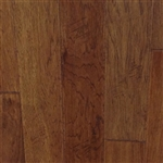"Engineered Hickory Handscraped Flooring, 3/8""x5""xRL, Tuscan Rum"
