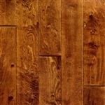 "Engineered Birch Smooth Flooring, 3/8""x5""xRL, Roasted Malt"