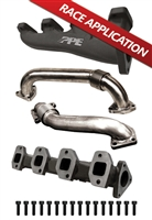 PPE High Flow Race Exhaust Manifolds 2001-2010 Duramax Diesel Engines
