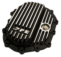 PPE Front Aluminum Diff Cover Brushed Black Finish 2011-Up LML 4WD
