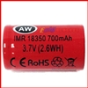 AW 18350 IMR 3.7 Volt 700 mAh Battery